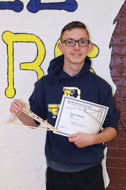 Rifle junior off to International Bridge Building competition