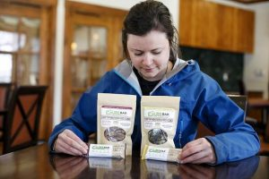 Breckenridge woman creates a post-workout nutrition bar high in CBD and turmeric