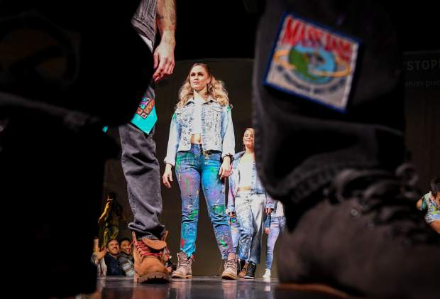 Carbondale fashion show lights up with a modern spin on a Hollywood classic