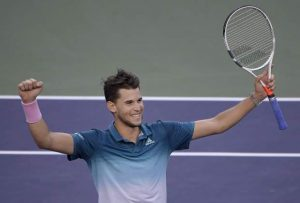 Thiem edges Federer in 3 sets to win Indian Wells title