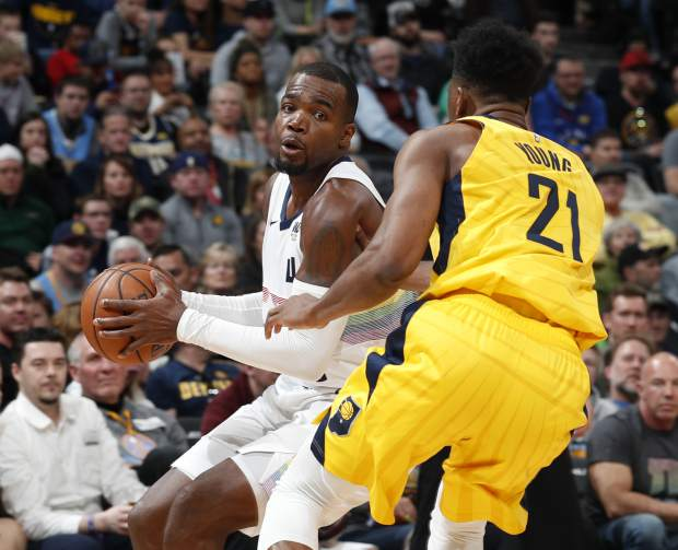 Millsap's floater leads Nuggets to 102-100 win over Pacers