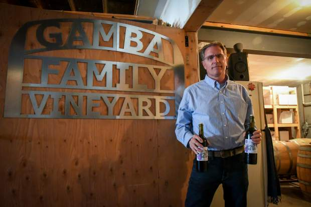 It's on to more wine-making for outgoing Glenwood Mayor Michael Gamba