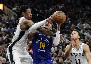 Spurs force Game 7, top Nuggets 120-103