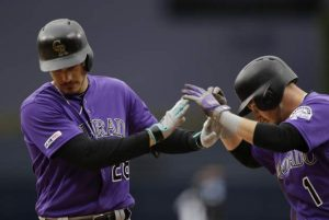 Arenado homers on 28th birthday, Rockies beat Padres 8-2