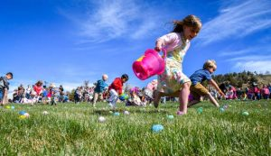 Sunday profile: Community egg hunt is more than a church gathering