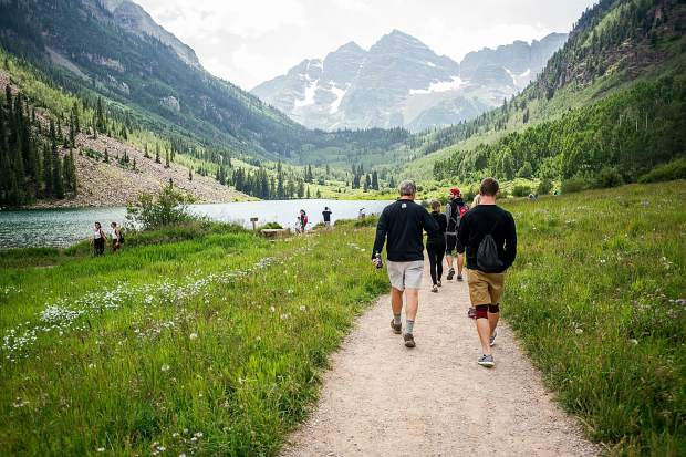 Maroon Bells Visits Have Nearly Doubled In Five Years Face