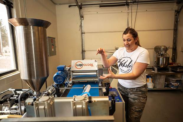 Yanina Dobarro has a goal to start selling her empanadas wholesale to valley food retailers. She imported a machine from Argentina that can make up to 1,000 empanadas per hour.