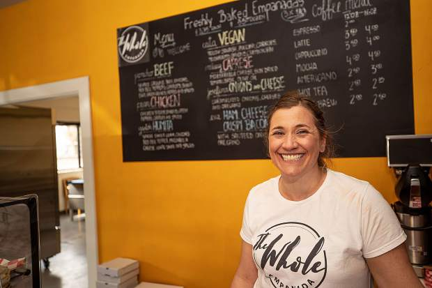 Yanina Dobarro opened The Whole Empanada in Basalt on March 18. She's been encouraged by the reception.