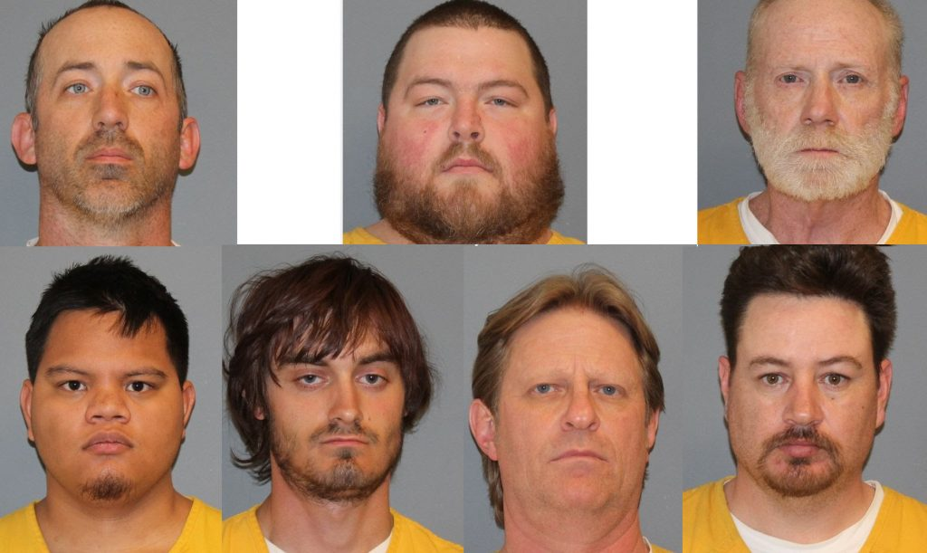 Undercover operation arrests 10 internet sex predators in Mesa County