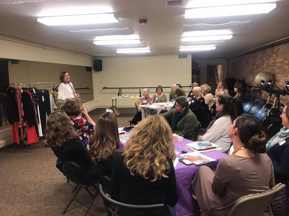 Feb. 2019 event hosted by Epic Fitness in Glenwood Springs with fashion tips from presenter Alison Smith.