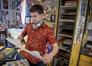 For Glenwood High School senior Ethan Hibbard, it all began with a few doodles in middle school