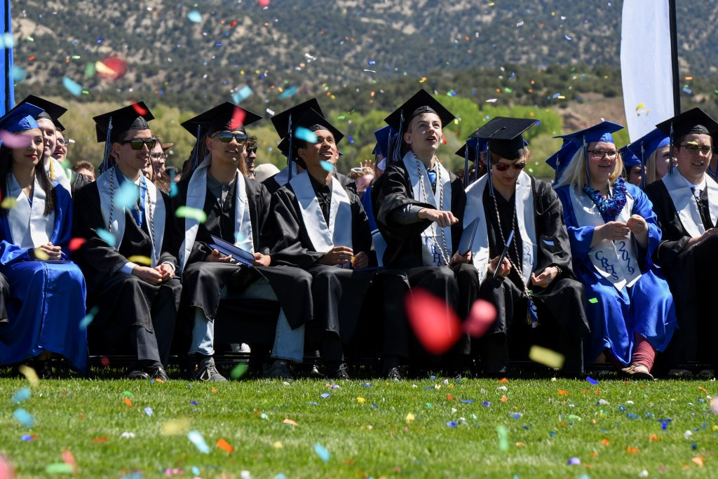 Sunshine greets 2019 Coal Ridge High School graduates