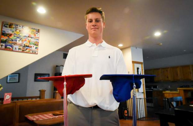 Sunday profile: Two caps, two gowns — Glenwood Springs student is a dual graduate