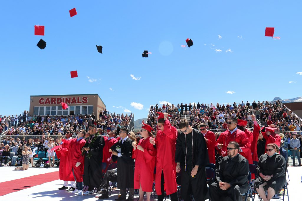 Grand Valley High School graduation