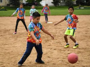 Kickball tournament teaches sportsmanship, teamwork to Roaring Fork District 4th graders