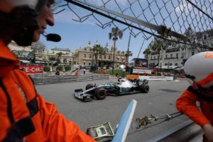 Hamilton fastest for Mercedes in practice at Monaco GP