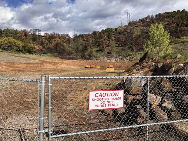 The Basalt shooting range is closed on Tuesday and Thursdays while a citizens' task force works on recommendations for Colorado Parks and Wildlife's management of the facility.