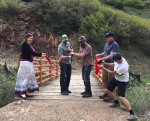 Roaring Fork Mountain Bike Association, Glenwood celebrate completion of newest South Canyon trails