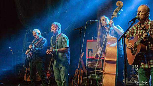 Stray Grass specializes in a high-energy interpretation of acoustic music. Although played on traditional instruments (most of the time), the musical stylings of Stray Grass are anything but traditional.