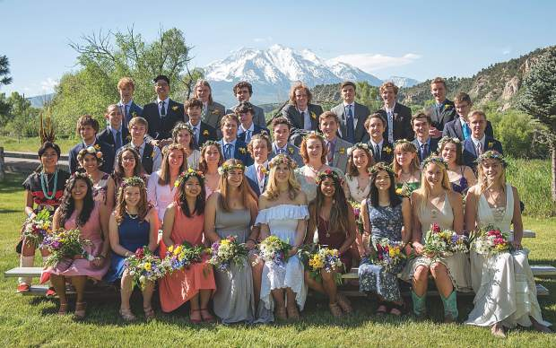 Colorado Rocky Mountain School Class of 2019.