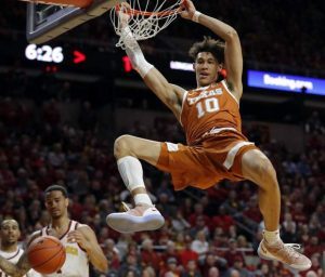 Texas' Jaxson Hayes headlines the list of big men in NBA draft