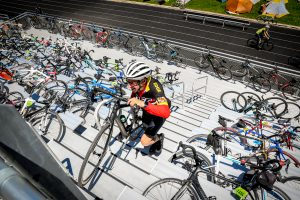 Ride the Rockies cyclists young and old appreciate Carbondale rest