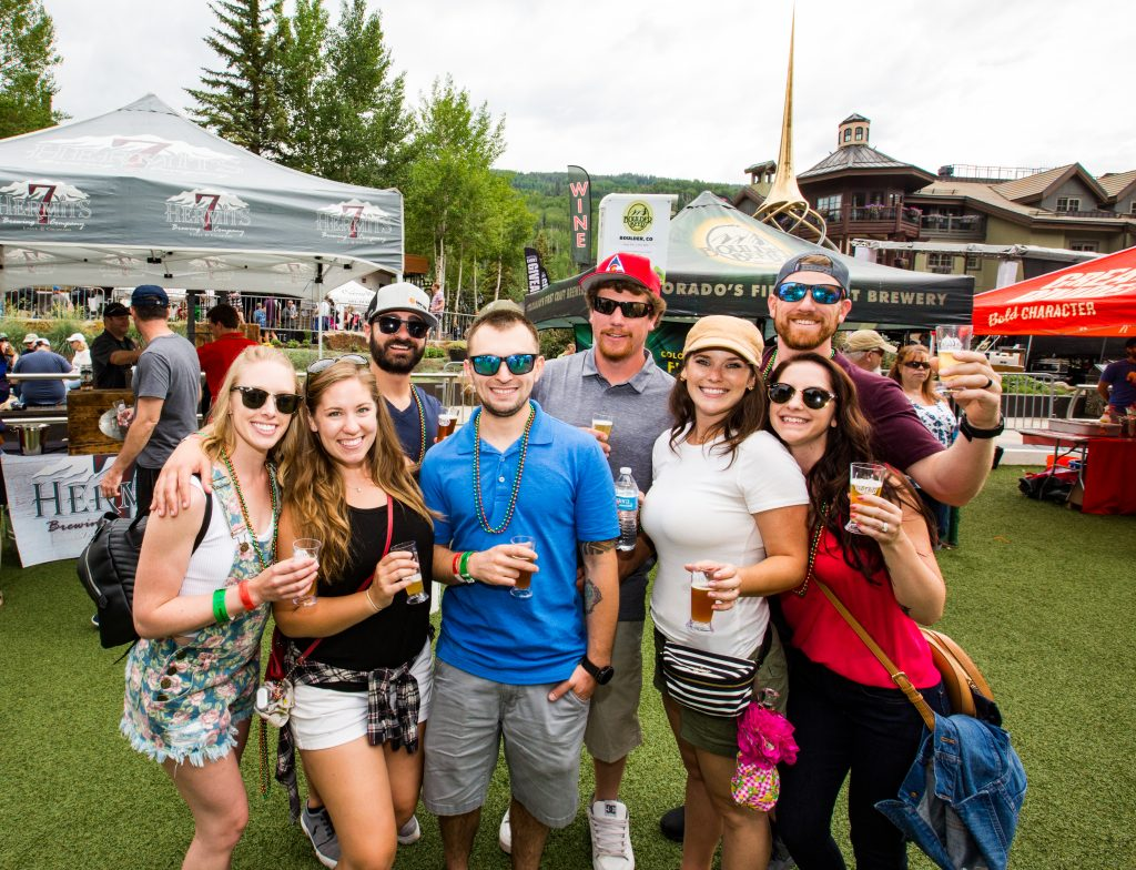 Beer festivals like the Vail Craft Beer Classic in Vail offer unique opportunities to meet world-class brewers and enjoy one-of-a-kind beers.