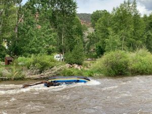 Multiple rafts flip on Roaring Fork River in two incidents Sunday; two people taken to hospital