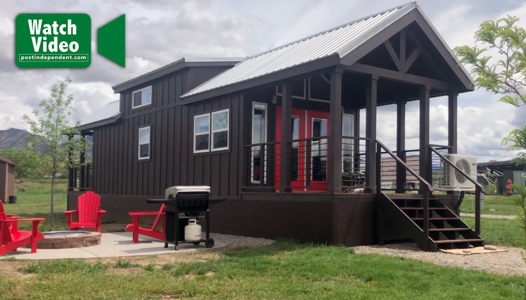 Watch: Tiny house model available for viewing in Silt