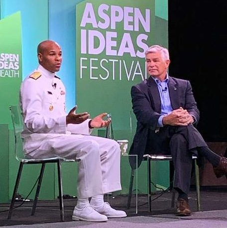 Time to slow down on marijuana, alerts surgeon general at Aspen Ideas Festival