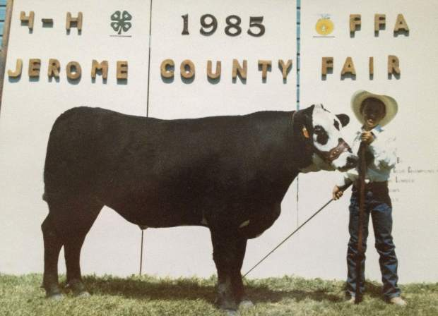 A proud moment for me 34 years ago after completing my first show day at my local fair back in southern Idaho.