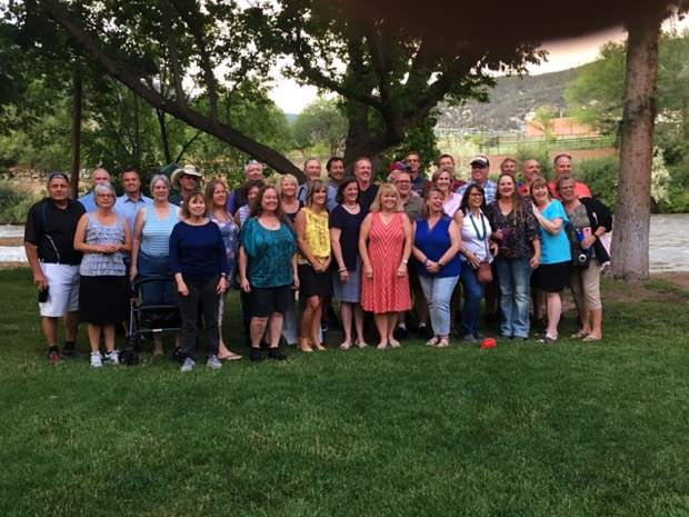 Glenwood Springs High School Class of 1979 celebrates 40 years of friendship and memories at Veltus Park on July 13.
