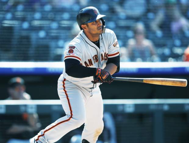 Solano's go-ahead homer keys Giants 11-8 win over Rockies