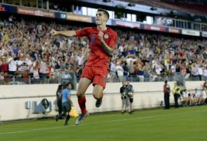 U.S. men also seek soccer title, face Mexico Sunday for Gold Cup