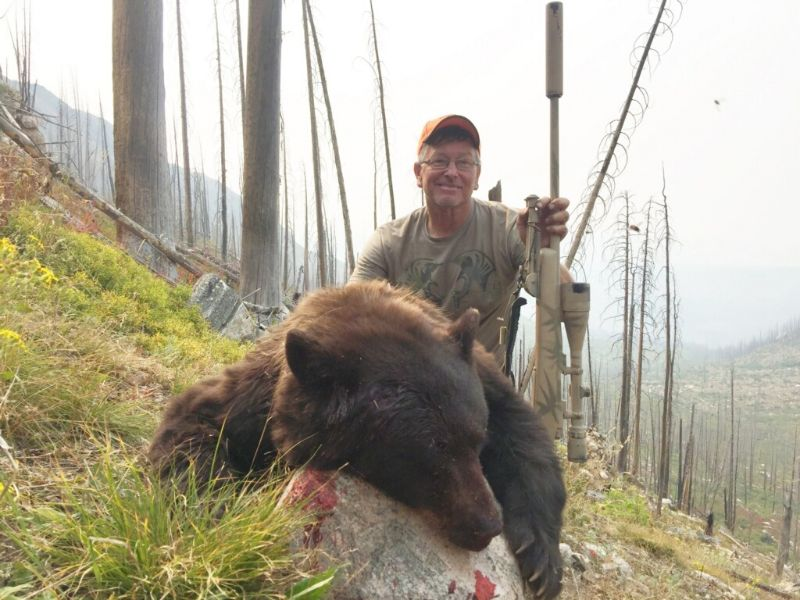bear killed by hunter Robert Stalley
