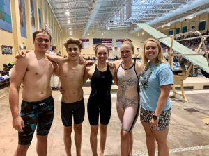 Team Sopris swim team competes at state championship