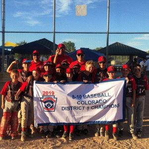 TRLL 8-10 boys baseball wins districts, hosts state tourney