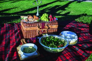Weekend Dish column: Just a picnic in the park