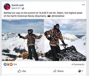 Forest Service investigates Independence Pass snowmobiling case; alleged culprit posted pictures on social media
