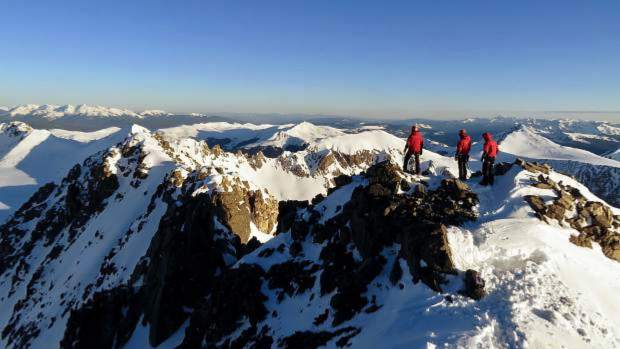 Summit County Rescue Group at Quandary Peak