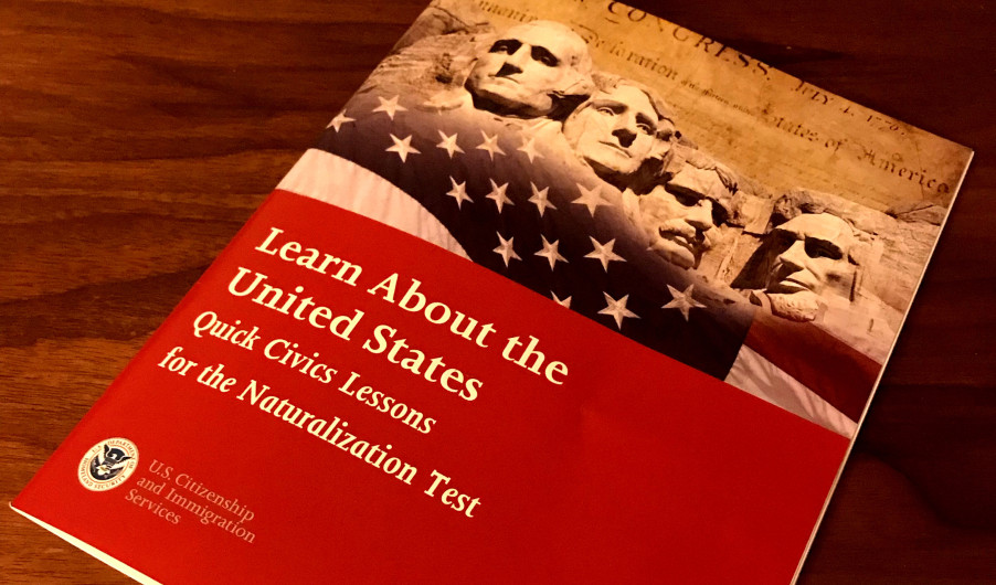 A handbook provided by the United States Citizenship and Immigration Services
