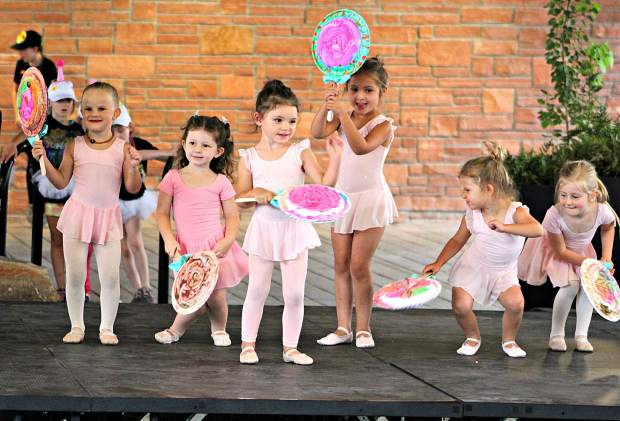 Young dancers with Legacy Dance Company in Glenwood Springs performed some of their Summer Dance Camp choreography at the July 26 Troll Under the Bridge Theater in Glenwood Springs last week. The shows continue every Friday through the summer.