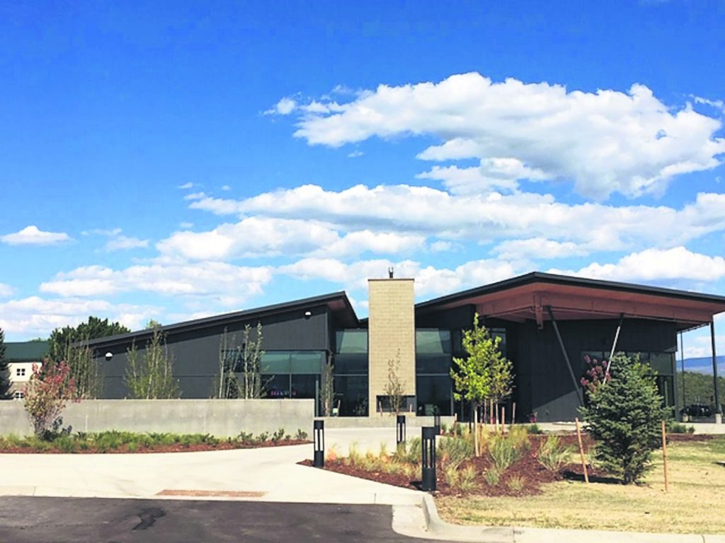 The welcome center at Colorado Mountain College's Spring Valley campus.