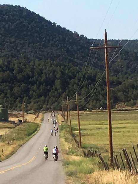 Touring Garfield County's farm country by bike.
