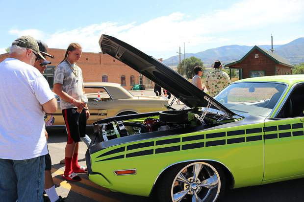 Following the parade, a car show by Wheels West Car Club members was setup on 1st Street displaying classic and custom automobiles, attracting car lovers of all ages.