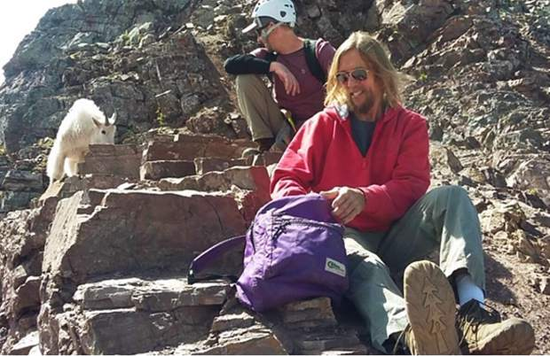 Neil Brosseau was found alive walking on a trail just before 4 p.m. Tuesday.