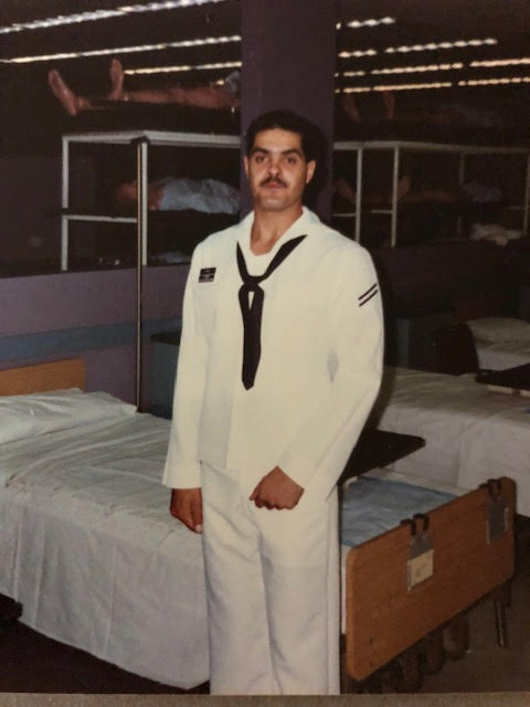 Tim Romero Jr. was a Navy nurse before joining the USPS. In 1991 he was deployed to Kuwait during the Gulf War.