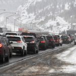 Colorado traffic snow