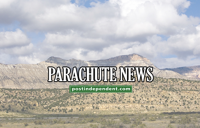 Post Independent Parachute news graphic