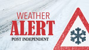 Post Independent traffic, roads and weather news graphic